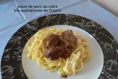 Vie quotidienne de FLaure: Joues de porc au cidre