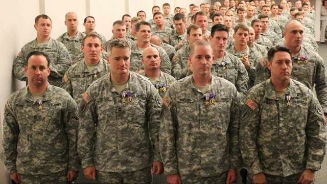 Military News - Special Forces soldiers honored for valor in Afghanistan