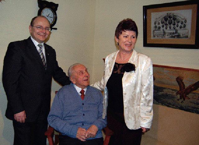 26 lutego 2008 - 100 lat pana Włodka.