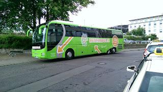 Fernbus + Bus: Megabus macht Meinfernbus, Postbus & Co. in Berlin Konkurrenz Für 1,50 Euro mit neuem Billig-Fernbus auf Reisen, aus Berliner Zeitung