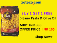 Buy Disano Pasta and Olive Oil At Buy 1 Get 1 Free Offer