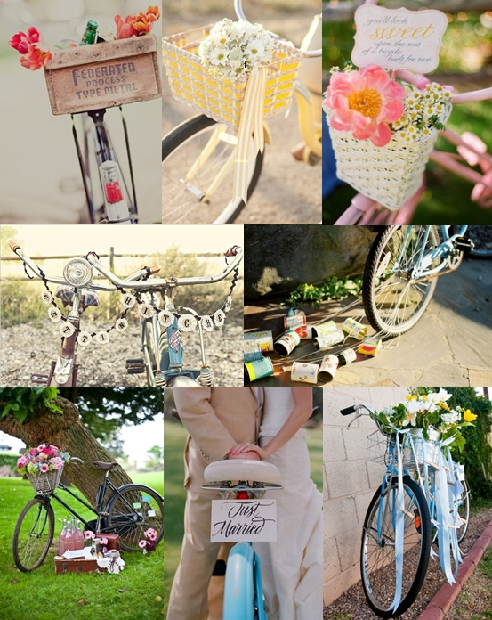 Bicycle wedding decoration ideas wedding decorations for Bike decorating ideas