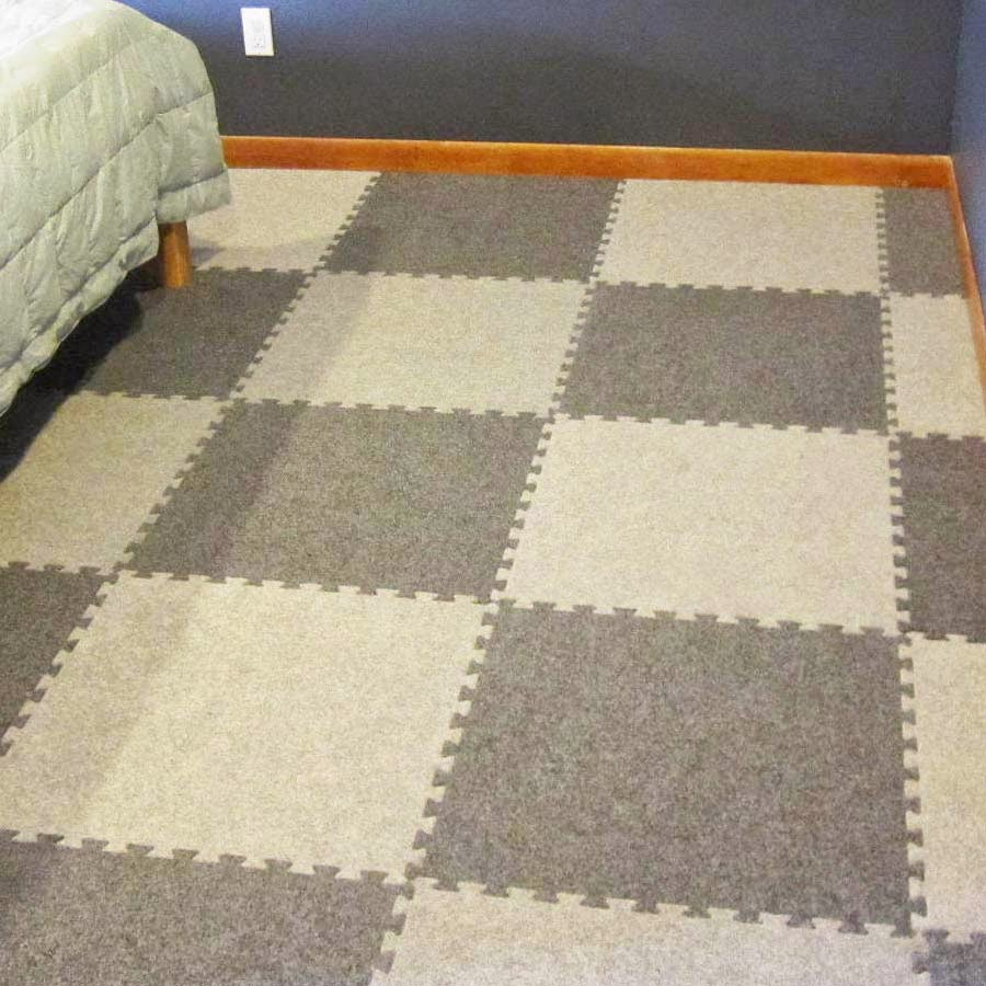 How To Carpet A Basement Floor: Greatmats Specialty Flooring, Mats And Tiles: Stylish And Functional Basement Flooring