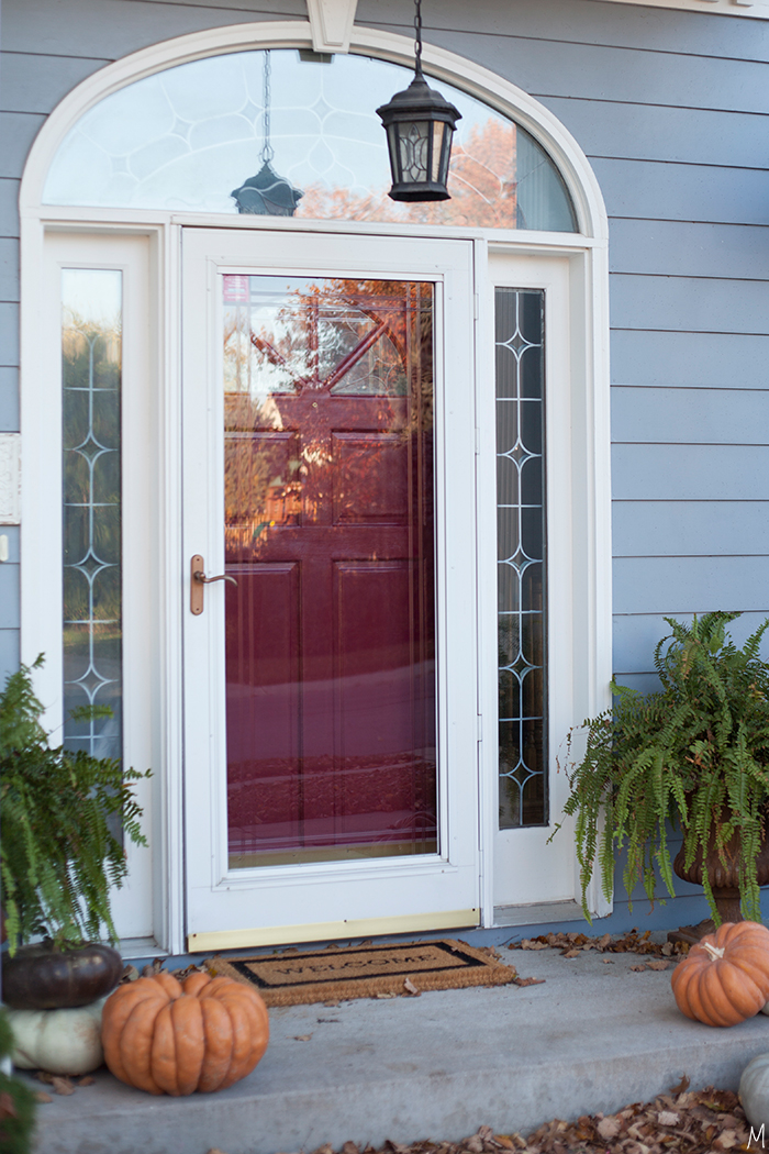 The makerista the cheapest way to update your entry for Front door with storm door