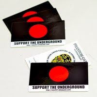 SxTxU SUPPORT Sticker