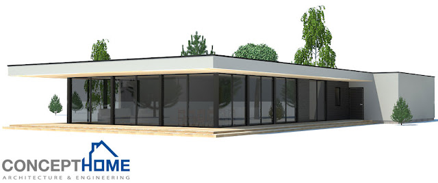 Contemporary house plans contemporary home ch170 for Modern house design 2013