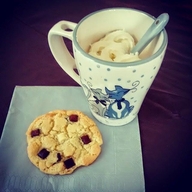 Cookie aux trois chocolats