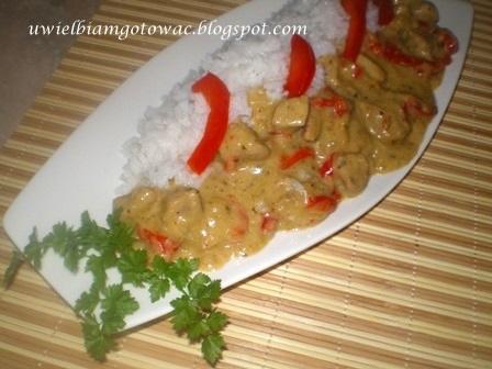 Zielone curry z wieprzowiny