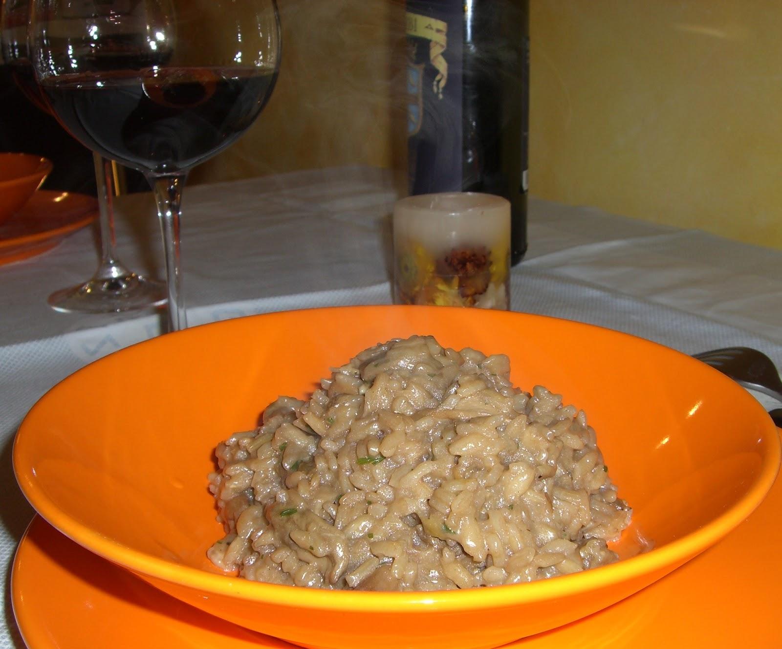 Cucinare assaporare bere e dintorni risotto ai funghi porcini secchi - Funghi secchi a bagno ...