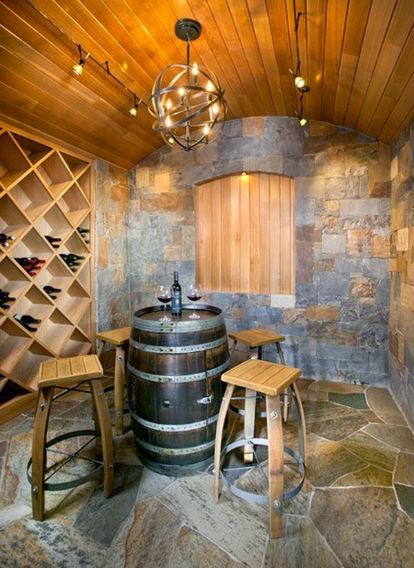 12 Ideas para decorar con barricas de vino