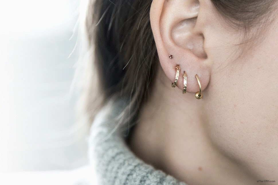 earrings piercing ear party fashion trend