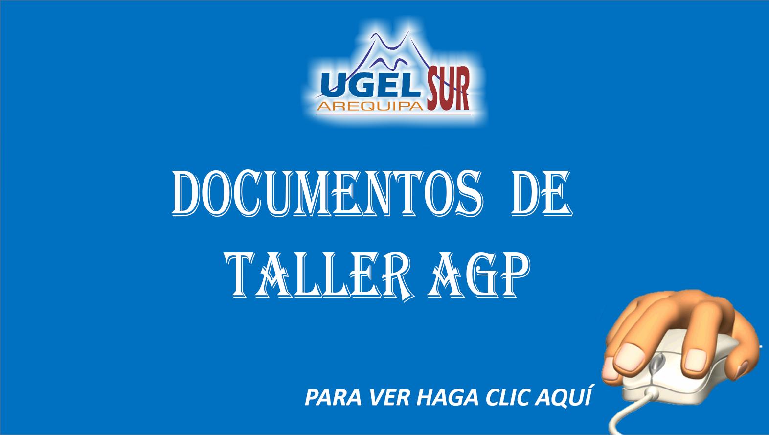 Documentos de Taller AGP