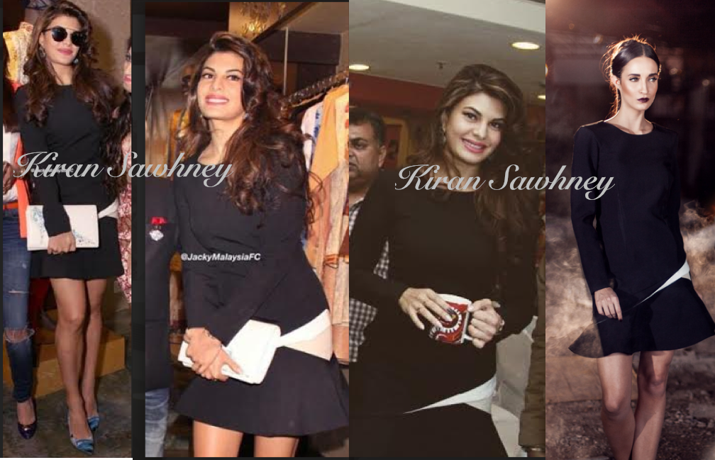 Jacqueline Fernandez in delhi in Kanika Goyal