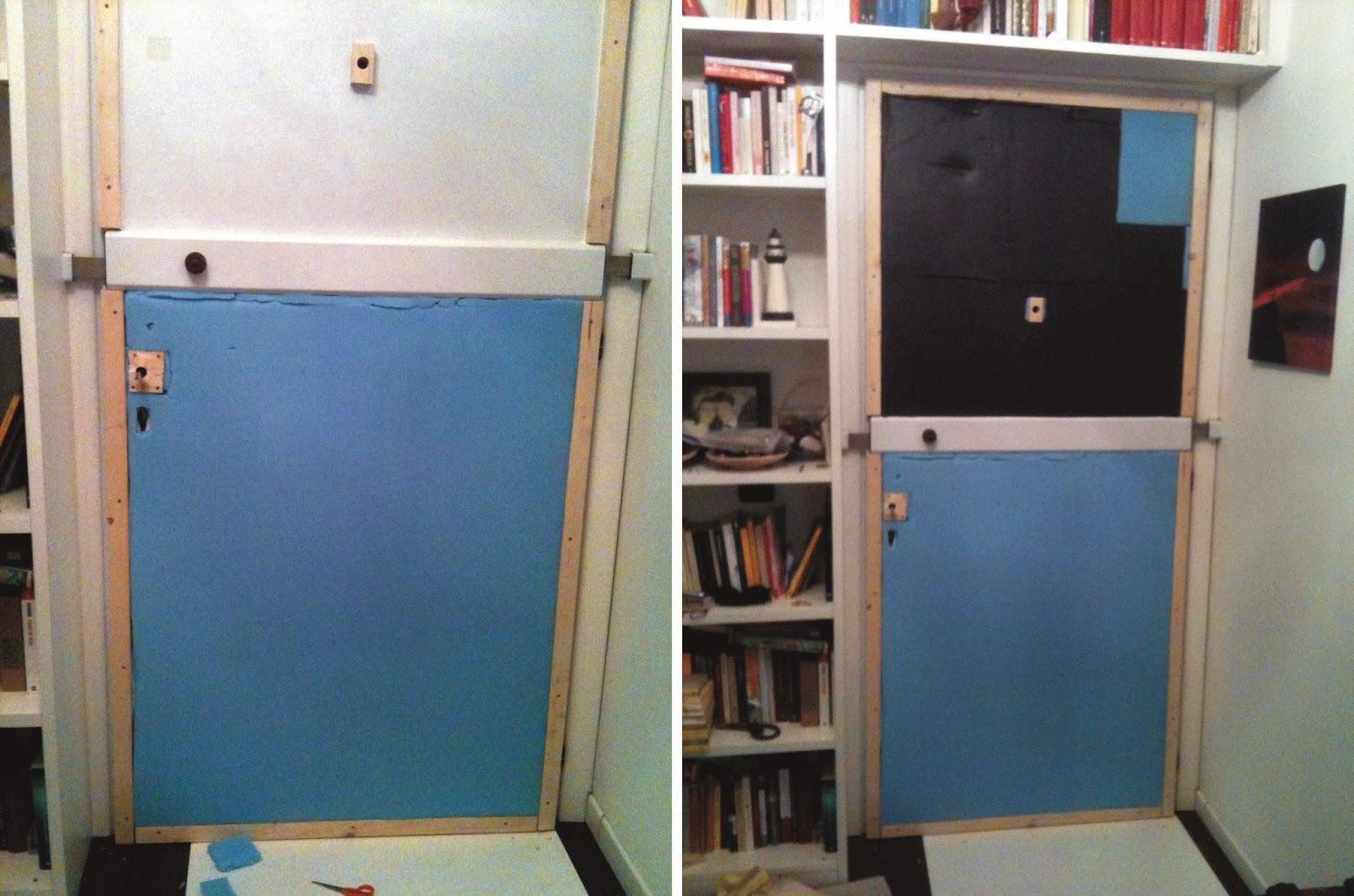 Il baule delle idee rinnovare e insonorizzare una porta - Porta insonorizzata ...