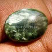 Batu Permata Seraphinite Bulu Monyet - SP873