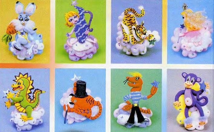 восточный гороскоп, мягкие игрушки