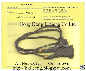 Cording Tassels Manufacturer - Hong Kong Li Seng Co Ltd