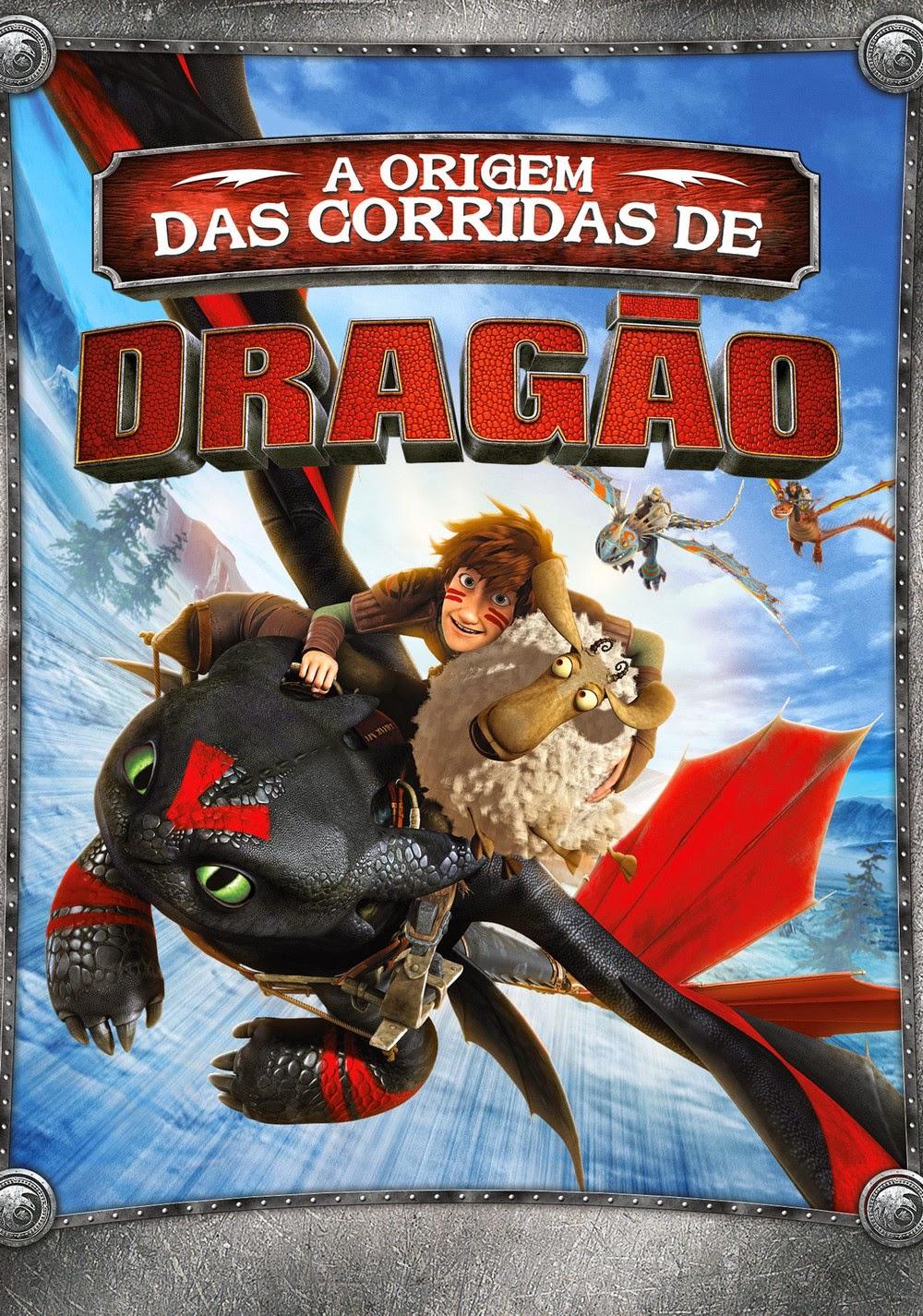 Dragões: A Origem das Corridas de Dragão – Dublado (2014)