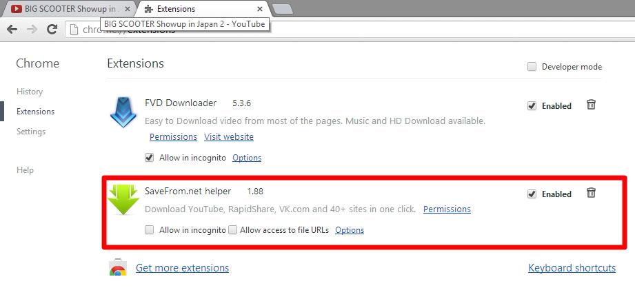 Kemudian korang buka laman youtube dan lihat apa akan terjadi