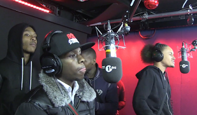 #GIMMIEGRIME - HITMAN & GUESTS FREESTYLE ON 1XTRA [VIDEO]