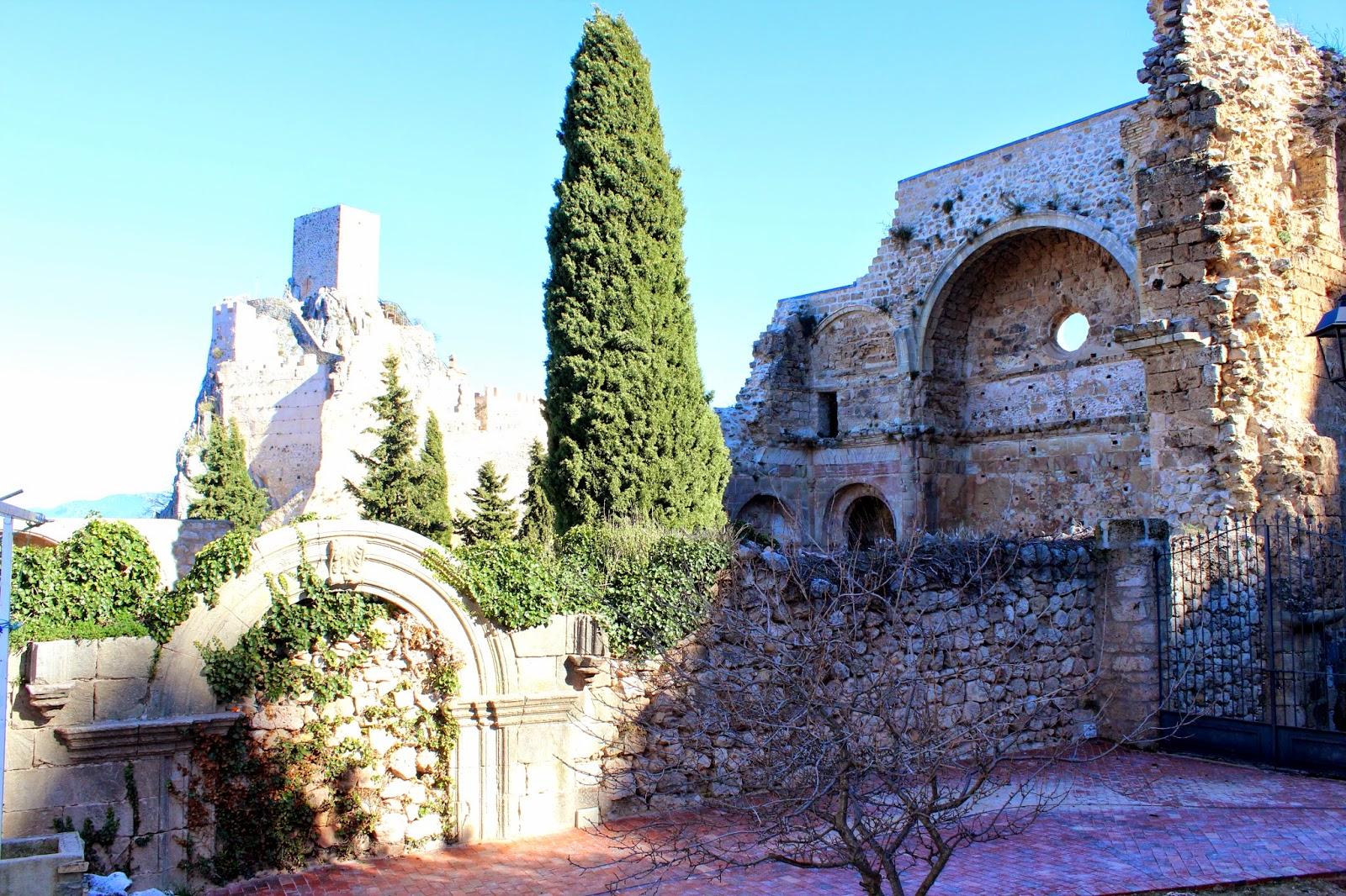 Iglesia de Santo Domingo de Silos. En la Iruela