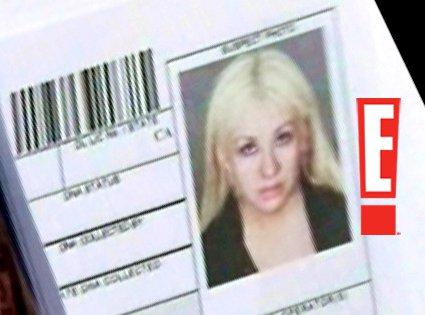 christina aguilera mugshot tmz. Christina Aguilera#39;s mugshot