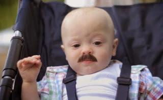 Gambar bayi lucu pakai kumis 36