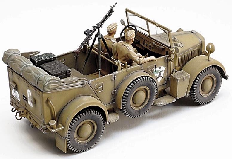 Scale Model News World War Ii Military Vehicle German