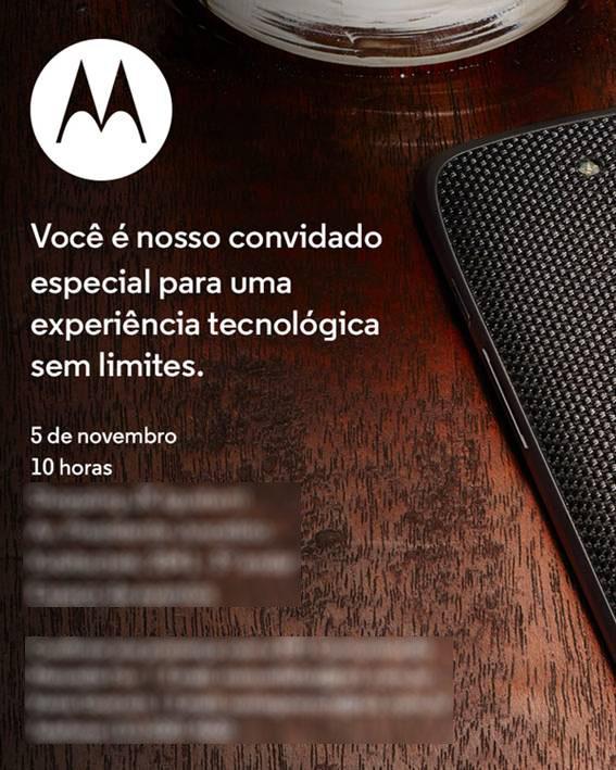 Motorola Brazil event invite