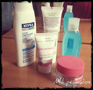 mil peinados productos limpieza facial