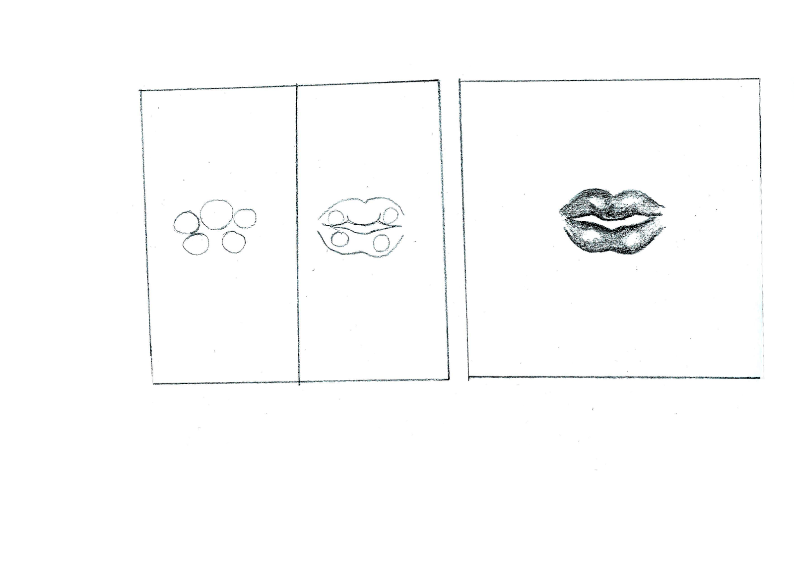 Leticia s art blog how to draw lips tutorial step by step for What to draw today