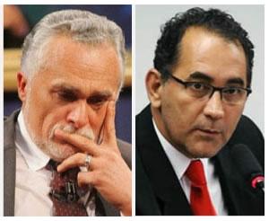 José Genoino e João Paulo Cunho do PT-SP