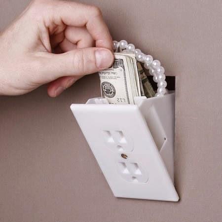 Trucos para esconder objetos valiosos