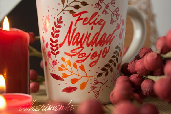 taza de navidad por estherimenta
