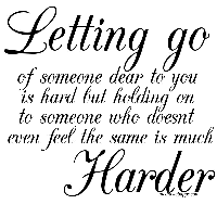 short love quotes about letting go