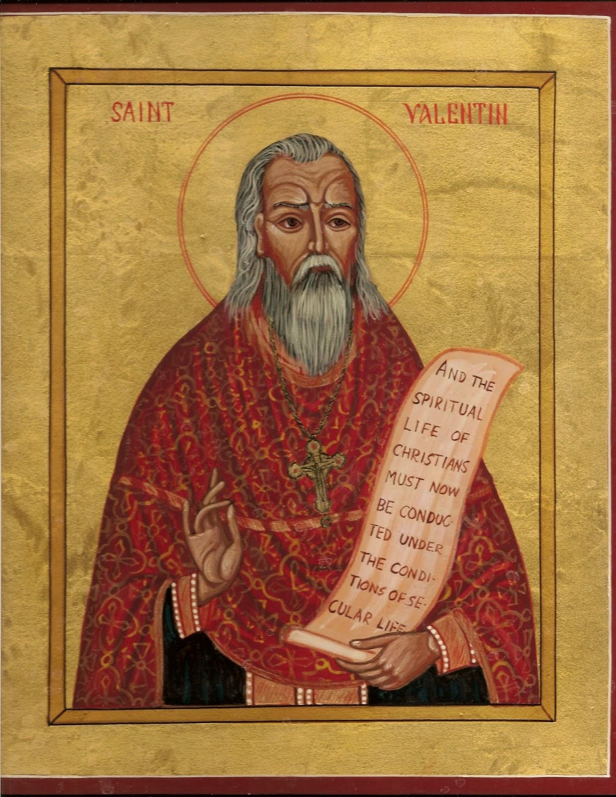 Povestea Sfantului Valentin