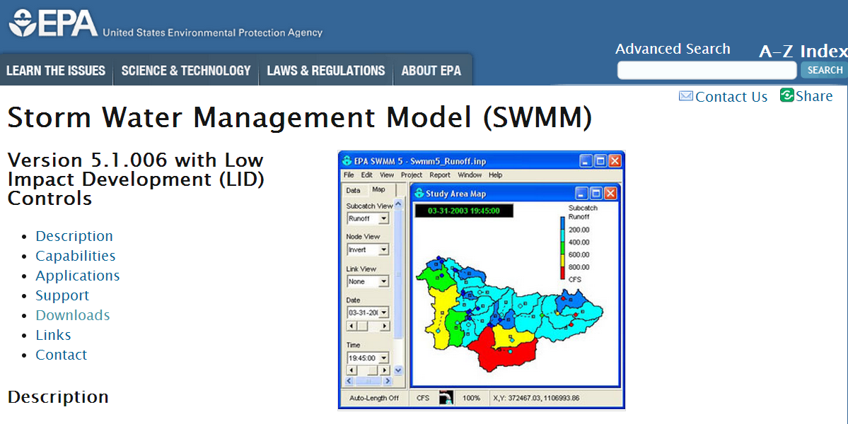 New SWMM 5.1.006 is now available from the EPA Site