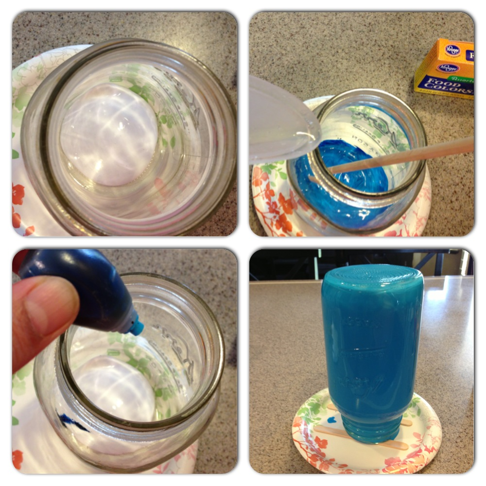 water based food coloring