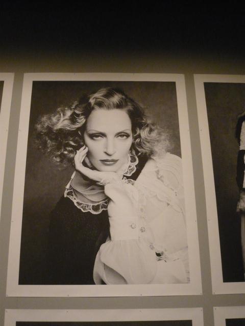 Britta Huegel photographs Karl Lagerfeld's photo