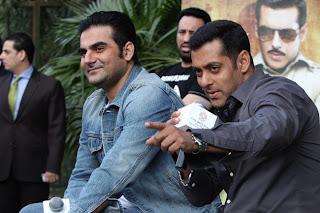 Salman Khan @ Dabangg 2 Promotion in Delhi