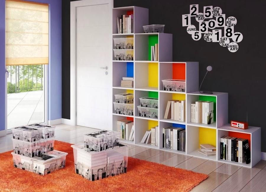 Cajas para ordenar for Como organizar mi habitacion