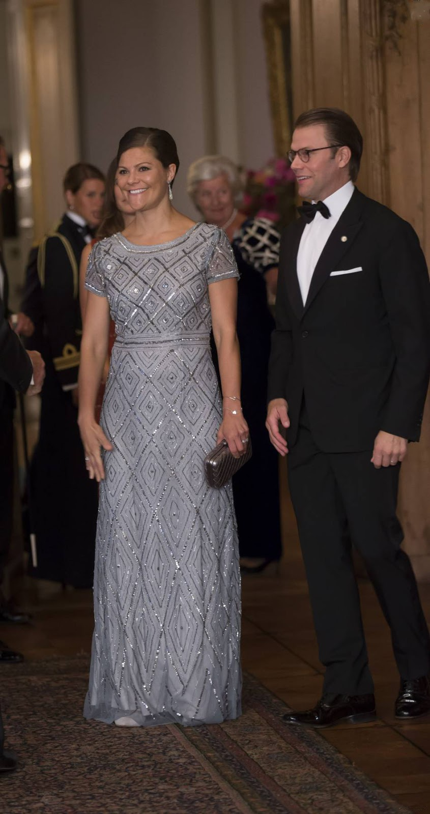 royal family around the world swedish royal family attends a gala dinner at drottningholm. Black Bedroom Furniture Sets. Home Design Ideas