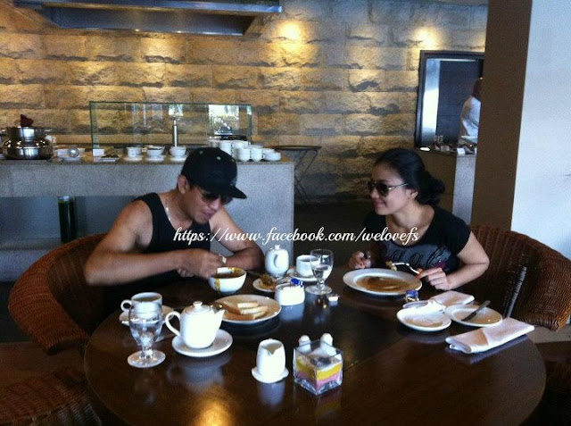 Gambar Honeymoon Fasha Sandha dan Jejai