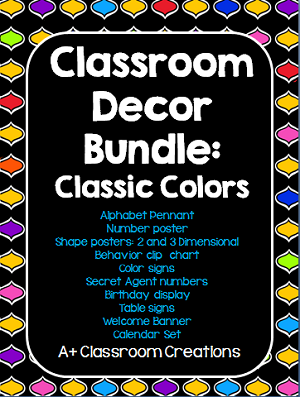 http://www.teacherspayteachers.com/Product/Classic-Decor-Bundle-Classic-Colors-1337466