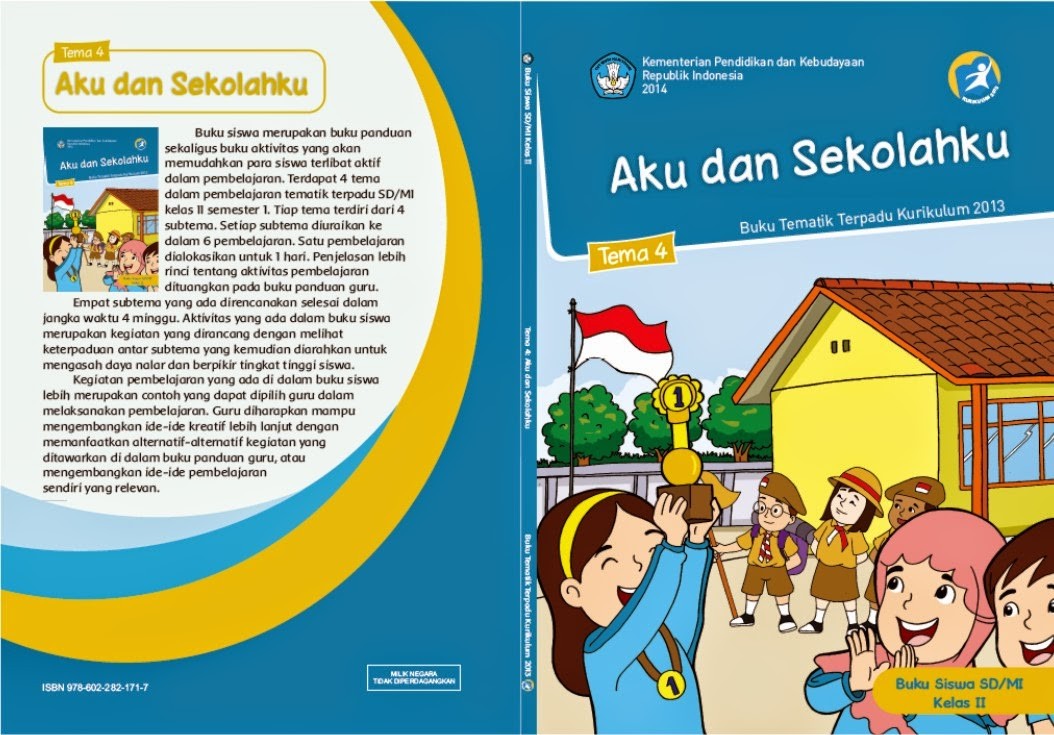 SDIT Ulul Albab Tarakan: BUKU TEMATIK KELAS 2 SD [KURIKULUM 2013]