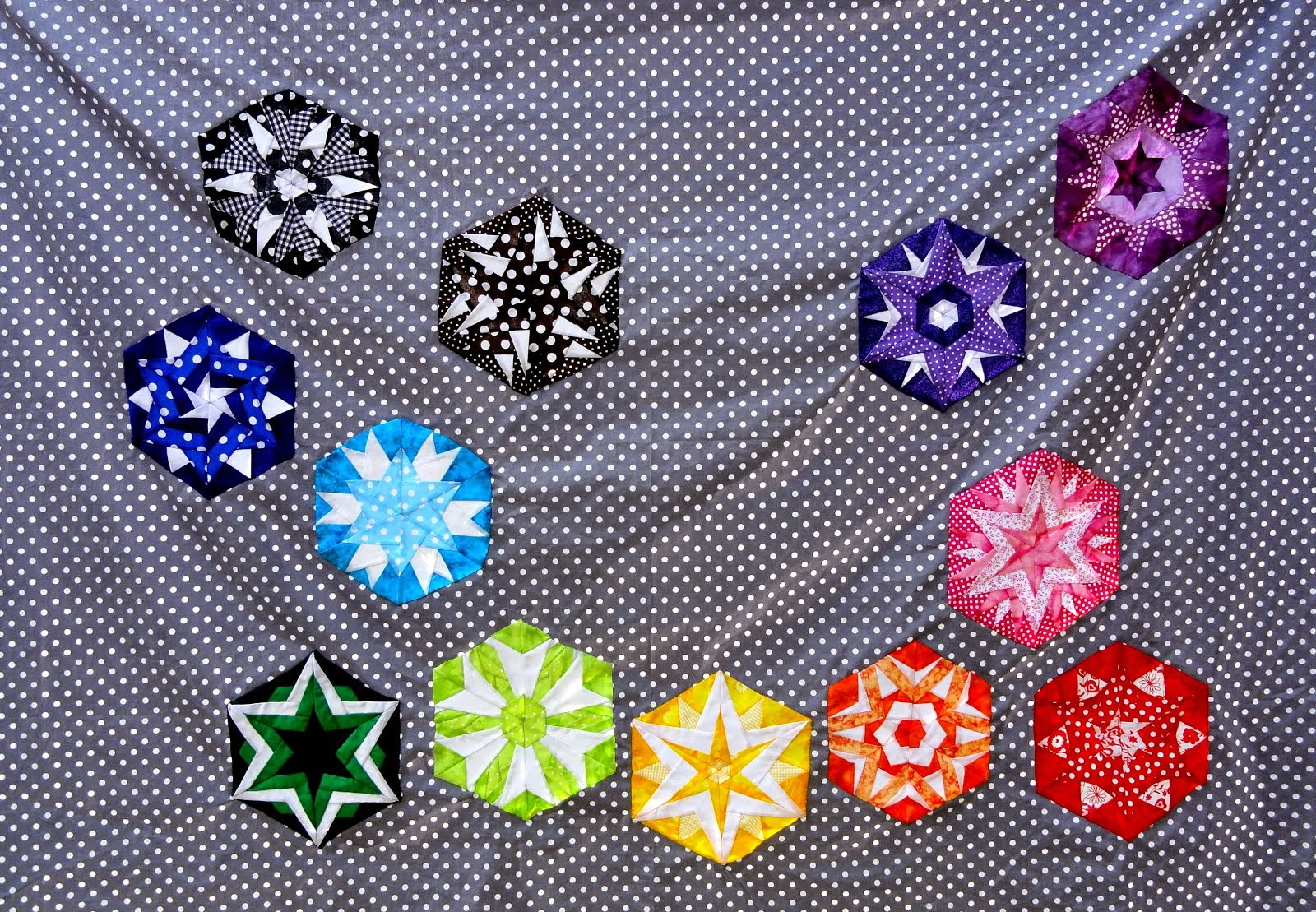Color crystals