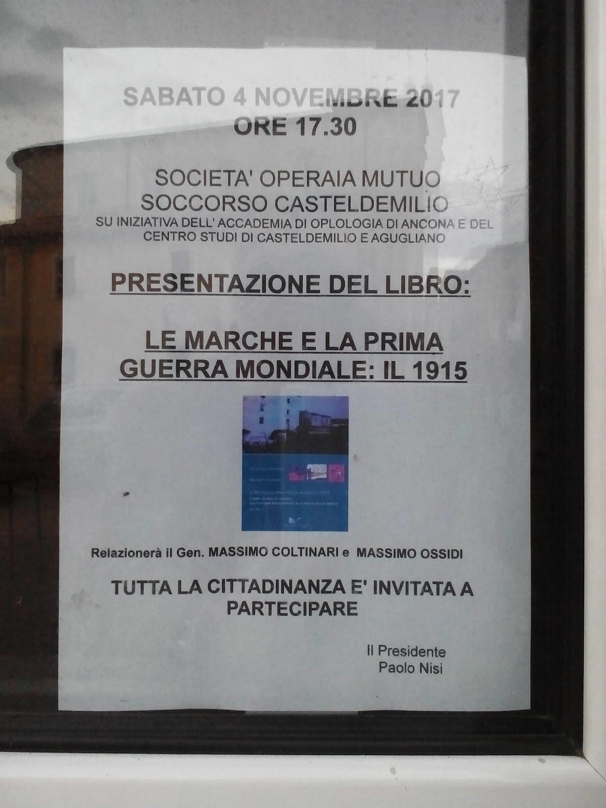 Castel D'Emilio 4 novembre 2017