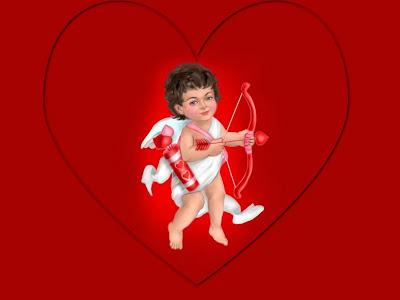 Cupido rompe corazones