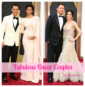 Fabulous Oscar Couples Feat: Matthew McConaughey, Channing Tatum &  More.