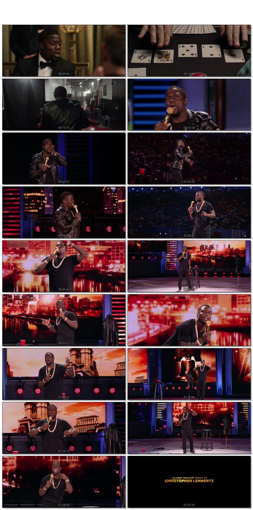Screen Shot Of Kevin Hart What Now 2016 Full Movie Download Free Watch Online 300MB